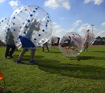 Bubble Soccer, Bubble Fussball