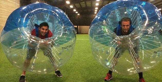 bubble soccer indoor