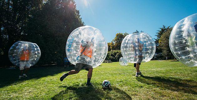bubble soccer outdoor