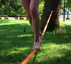 Slackline Safety First